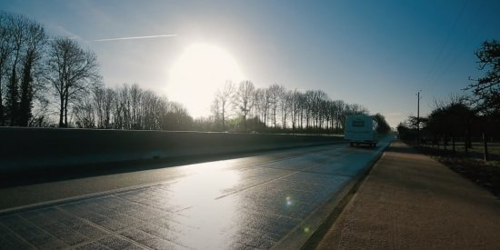Wattway macht einen neuen Schritt für den Pilotstandort Tourouvre-au-Perche (Normandie, Franckreich)