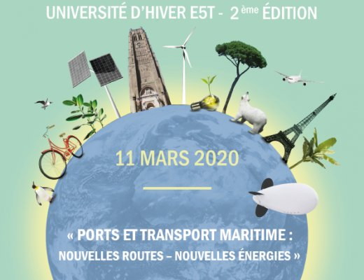 E5T Winter University - Ports and Sea transport: new routes, new energies